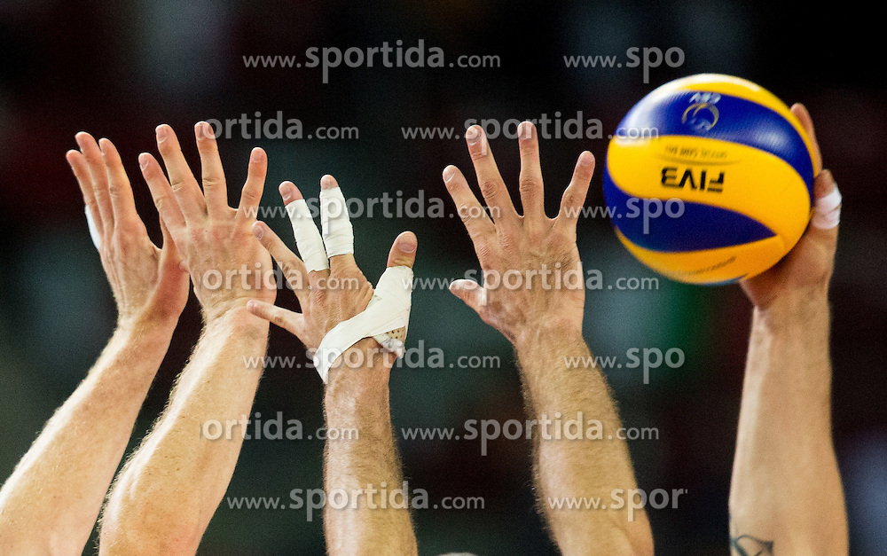Symbolic photo during volleyball match between National teams of Slovenia and Italy in 1st Semifinal of 2015 CEV Volleyball European Championship - Men, on October 17, 2015 in Arena Armeec, Sofia, Bulgaria. Photo by Vid Ponikvar / Sportida