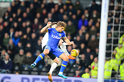 Derby County v Leeds United, Championship League Pride Park Tuesday 21st February 2018, Score 2-2, :Photo Mike Capps