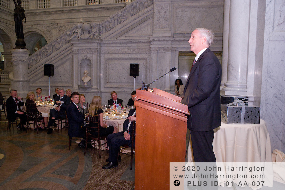Packard Building Conveyance reception and dinner in the Members Room at the Library of Congress