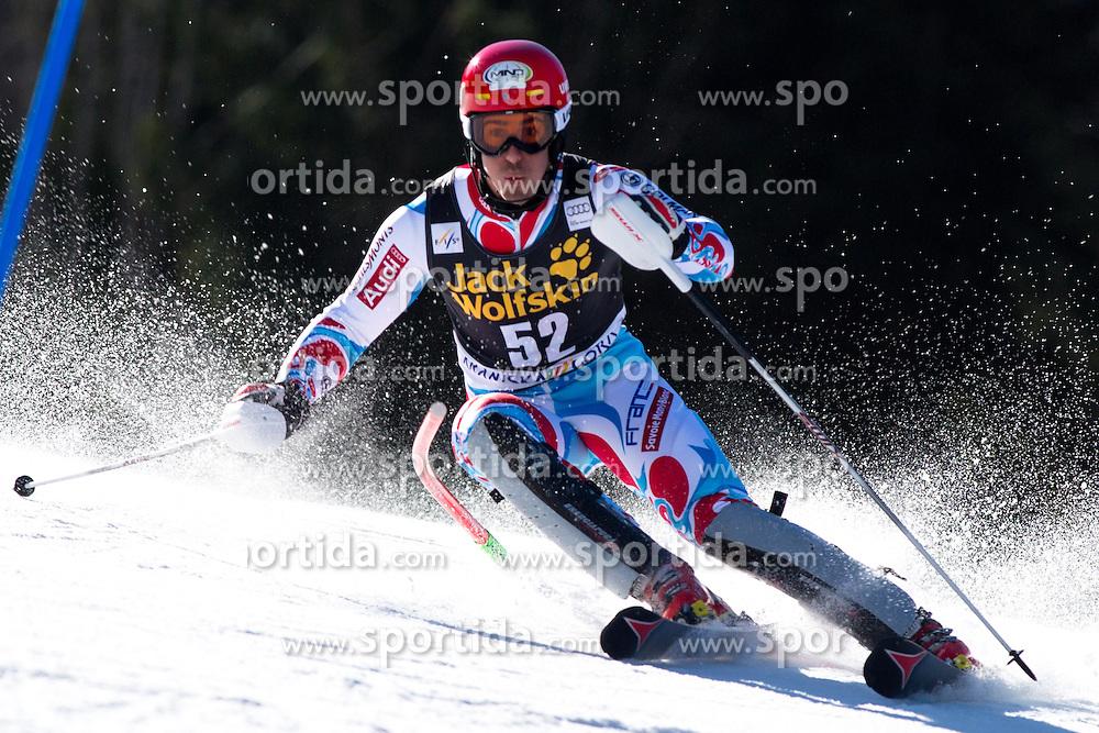 MUFFATJEANDET Victor of France during the 1st Run of Men's Slalom - Pokal Vitranc 2014 of FIS Alpine Ski World Cup 2013/2014, on March 9, 2014 in Vitranc, Kranjska Gora, Slovenia. Photo by Matic Klansek Velej / Sportida