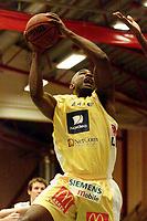 Basketball, 6. januar 2002. BLNO, Asker Aliens - Kristiansand Pirates. Cory Jenkins, Asker Aliens.