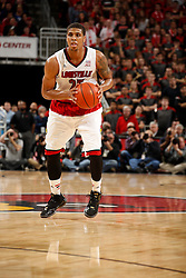 Louisville guard/forward Wayne Blackshear. <br /> <br /> Kentucky won 58-50.<br /> <br /> The University of Louisville hosted the University of Kentucky, Saturday, Dec. 27, 2014 at Yum Center in Louisville. <br /> <br /> Photo by Jonathan Palmer