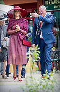 Winschoten, 13-06-2017 <br /> <br /> Queen Maxima baptizes a new rose at the occasion of the 50th anniversary of the Rosarium of Winschoten.<br /> <br /> COPYRIGHT: ROYALPORTRAITS EUROPE/ BERNARD RUEBSAMEN