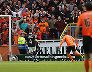 Dundee United's Nadir Çiftçi scores the opening goal - Dundee United v Dundee at Tannadice Park in the SPFL Premiership<br /> <br />  - © David Young - www.davidyoungphoto.co.uk - email: davidyoungphoto@gmail.com