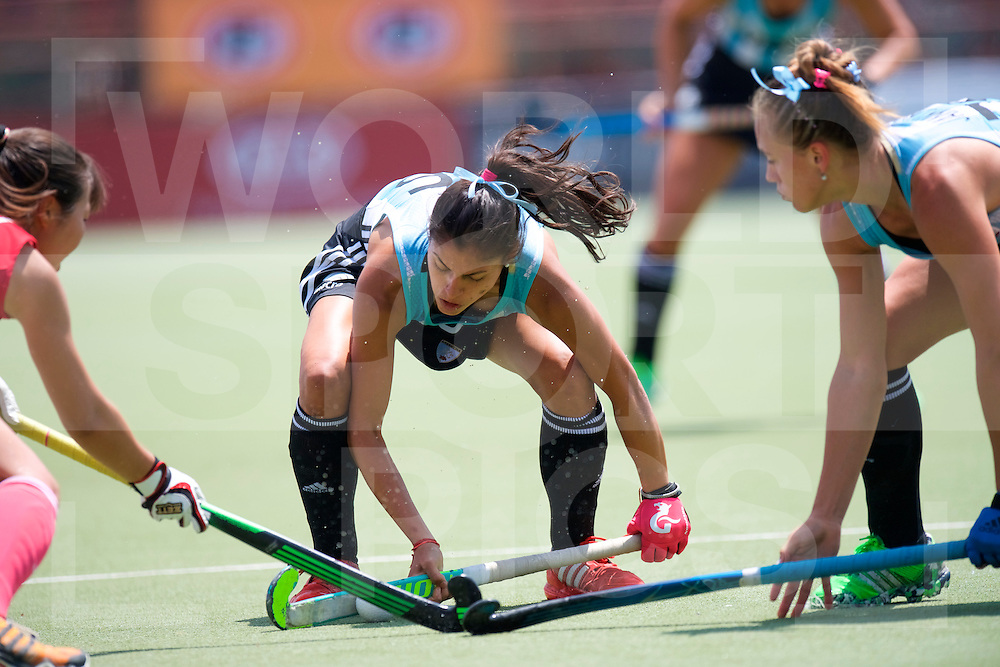 SANTIAGO - 2016 8th Women's Hockey Junior World Cup<br /> ARG v JPN (Pool B)<br /> foto: Maria Ortiz.<br /> FFU PRESS AGENCY COPYRIGHT FRANK