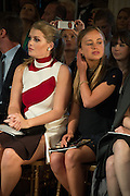 LADY KITTY SPENCER; AMELIA WINDSOR Dior presentation of the Cruise 2017 collection. Blenheim Palace, Woodstock. 31 May 2016