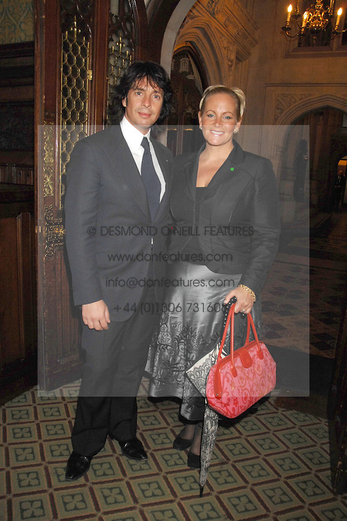 LAURENCE &amp; JACKIE LLEWELYN-BOWEN at a reception for the third NSPCC Hall of Fame Awards Ceremony in the Members Dining Room, The House of Commons, London on 15th May 2007.<br /><br />NON EXCLUSIVE - WORLD RIGHTS
