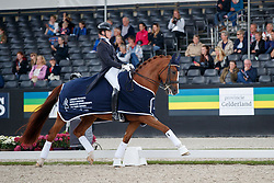 Van Lierop Robin, NED, Finja<br /> Longines FEI/WBFSH World Breeding Dressage Championships for Young Horses - Ermelo 2017<br /> © Hippo Foto - Dirk Caremans<br /> 04/08/2017