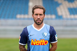 07.07.2015, Rewirpower Stadion, Bochum, GER, 2. FBL, VfL Bochum, Fototermin, im Bild Tobias Weis (Bochum) // during the official Team and Portrait Photoshoot of German 2nd Bundesliga Club VfL Bochum at the Rewirpower Stadion in Bochum, Germany on 2015/07/07. EXPA Pictures &copy; 2015, PhotoCredit: EXPA/ Eibner-Pressefoto/ Hommes<br /> <br /> *****ATTENTION - OUT of GER*****