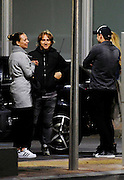 MADRID, SPAIN, 2015, DECEMBER 27 <br /> <br /> Luka Modric and his friend and team mate Kovacic, champions in love. Now Modric has more company in Madrid, and is one of the recent signings of Real Madrid was his friend Mateo Kovacic. Together and in the company of their wives, they enjoyed a romantic evening. Modric has it all footballing terms, quality, technique, effort, sacrifice and humility. Besides his talent in the field transmits other virtues of a boy who forged his personality with the indelible memory of the War of Croatia. Now, the player wins on the field and share these successes with his family, his wife and son Luka. His wife, Croatian birth as he worked in the office of Mario Maric, Croatian agent, when they met. They saw, they liked and the rest came alone. They married in 2010 and only a month later welcomed their first, and currently only child. Vanja Bosnic has become the best Croatian travel companion, who in recent years has accompanied him on his football career. After settling in Ukraine, the family packed Modric to move to London, the city where the player started playing at Tottenham. Established and used to English life, Vanja also had to get used to his new life in Spain<br /> ©Exclusivepix Media