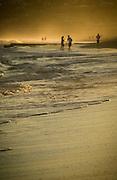 Afternoon Beach Walk, East Coast Australia