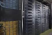 Detail image of Servers at DC6 Data Center in Manassas VA