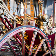 Stage coach at Chapultepec Castle. Since construction first started around 1785, Chapultepec Castle has been a Military Academy, Imperial residence, Presidential home, observatory, and is now Mexico's National History Museum (Museo Nacional de Historia). It sits on top of Chapultepec Hill in the heart of Mexico City.