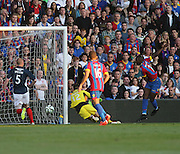 Yannick Bolasie fires Crystal Palace ahead - Crystal Palace v Dundee - Julian Speroni testimonial match at Selhurst Park<br /> <br />  - © David Young - www.davidyoungphoto.co.uk - email: davidyoungphoto@gmail.com