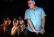 "Russian self-proclaimed master of seduction Vladimir Rakovsky teaches students to be ""real women"". The course, given in Moscow, includes seduction theory, posture and strip-tease. The course, also dubbed ""How to Marry a Millionaire"", teaches women to be subservient to men. The course takes place at the Dubrovka Theatre, scene of the terrorist siege."