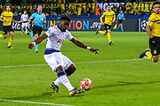 Tottenham Hotspur defender Serge Aurier (24) crosses the ball during the Champions League round of 16, leg 2 of 2 match between Borussia Dortmund and Tottenham Hotspur at Signal Iduna Park, Dortmund, Germany on 5 March 2019.
