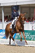 Anna Svanberg - Bellman 4<br /> FEI World Breeding Dressage Championships for Young Horses 2012<br /> © DigiShots