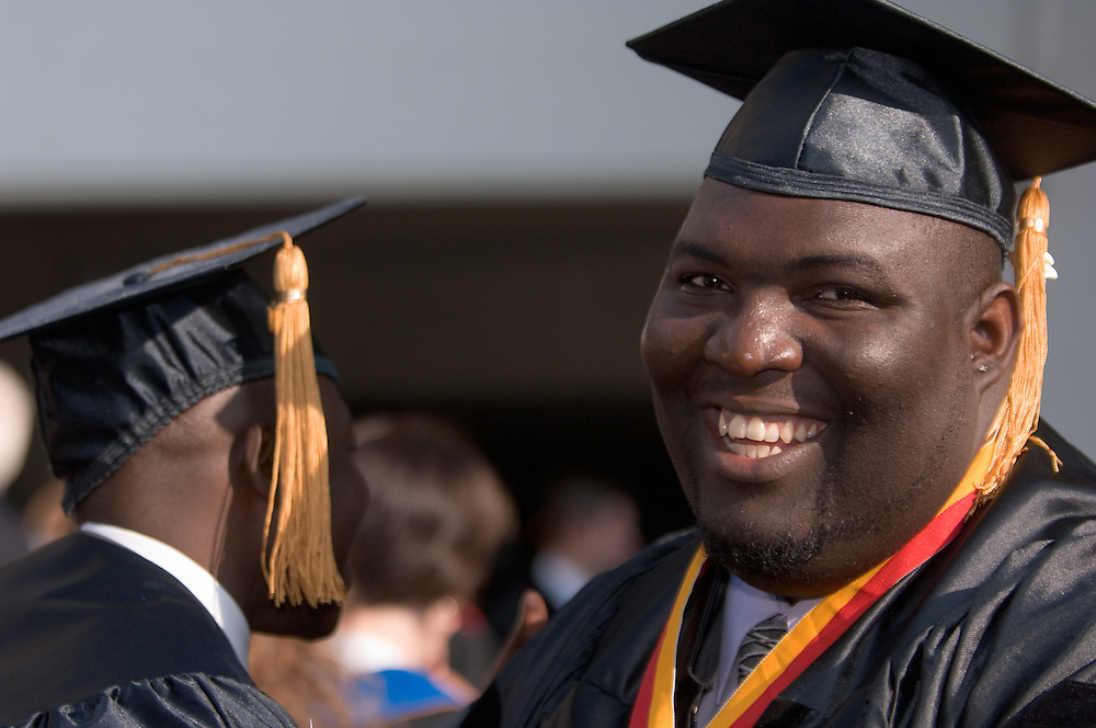 18274Graduate Commencement 2007... African Prince, Agya Boakye-Boaten... gets Ph.D.: Colleagues in Athens already know him as a musician, scholar and teacher. But in his home of Ghana, Agya Boakye-Boaten ((AY-cha BWAH-chay BWAH-tain)) is known as something else: a prince. On June 8, this tribal prince, drummer and soon-to-be professor will earn his doctorate in cultural studies and conclude six years of study at Ohio University, where he will have earned three degrees.