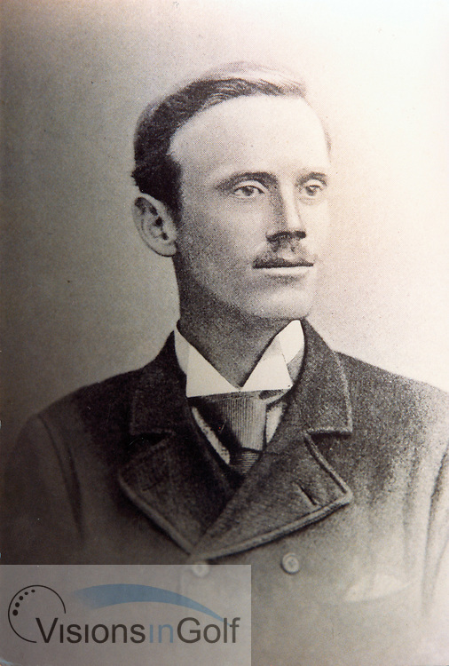Hugh Kirkaldy 1891 Open Championship winner, St. Andrews<br /> Picture Credit: &copy;Visions In Golf / Michael Hobbs