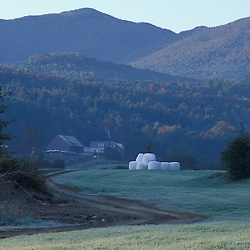 Waitsfield, VT.Mad River Valley.  Farm in the Green Mountains