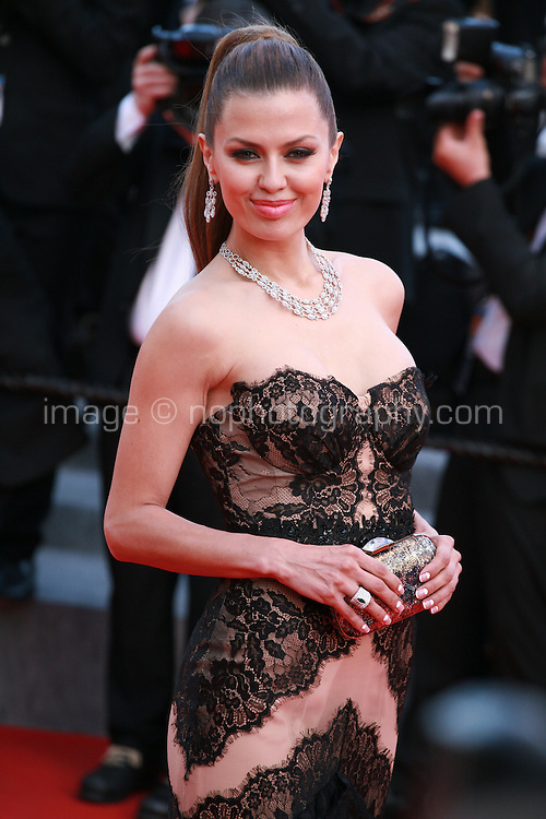 Victoria Bonya at the Two Days, One Night (Deux Jours, Une Nuit) gala screening red carpet at the 67th Cannes Film Festival France. Tuesday 20th May 2014 in Cannes Film Festival, France.