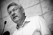 Rome sep 09th 2015, FIOM Union Central Committee. In the picture general secretary Maurizio Landini