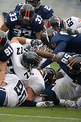 The University of Virginia Football Team played their Spring game at Scott Stadium in Charlottesville, VA on April 14, 2007.
