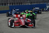 Scott Dixon, Milwaukee IndyFest, Milwaukee Mile, West Allis, WI 06/16/12