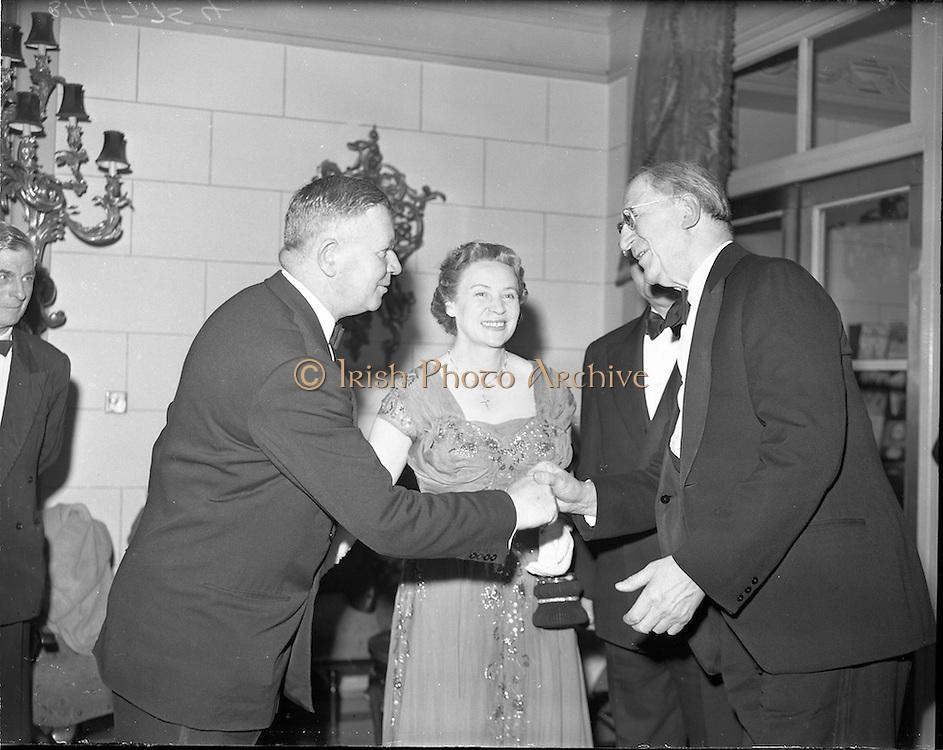 23/04/1959.04/23/1959.23 April 1959.Irish Sugar Co. dinner at Gresham Hotel. Silver Jubilee Dinner of Comhlucht Suicre Eireann.