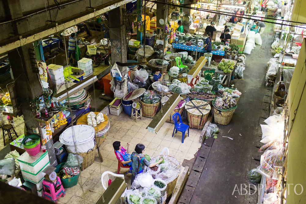 Flower Market in Bangkok Thailand Bangkok Thailand