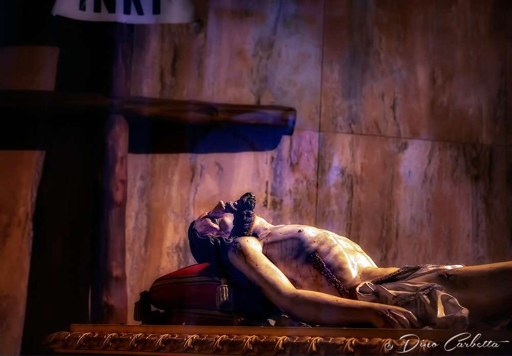&quot;Christ rests in anticipation - Sant'Andrea Duomo di Amalfi&quot;... <br />