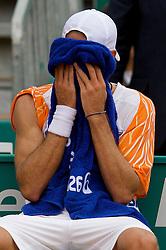 MONTE-CARLO, MONACO - Wednesday, April 23, 2008: Ruben Ramirez Hidalgo (ESP) in during the second round of the Masters Series Monte-Carlo at the Monte-Carlo Country Club. (Photo by David Rawcliffe/Propaganda)