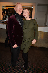 Camilla Rutherford & Dominic Burns at the Debrett's 500 Party recognising Britain's 500 most influential people, held at BAFTA, 195 Piccadilly, London England. 23 January 2017.<br /> No UK magazines - contact www.silverhubmedia.com