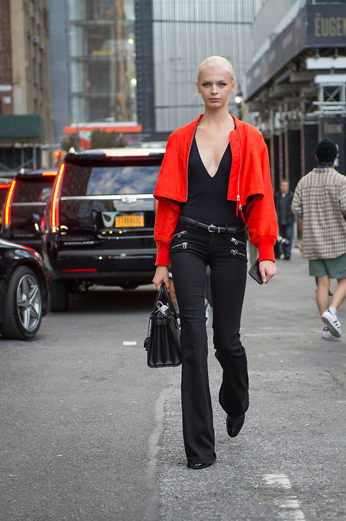 Black and Red, Outside Monse SS2018