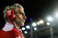Singapore - 18.09.2016 - Formula 1 Gran Premio di Singapore - Nella foto: Maurizio Arrivabene team principal della Ferrari
