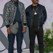 Krept and Konan arrives at V&A - summer party, on 19 June 2019, London, UK