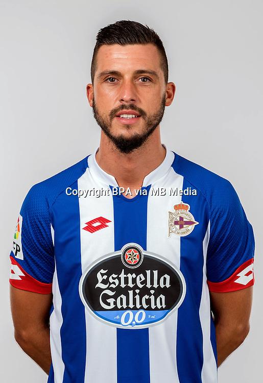 Spain - Liga BBVA 2015-2016 / <br /> ( R.C. Deportivo de La Coruna ) - <br /> Haris Medunjanin