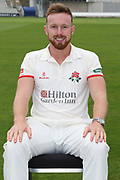 Danny Lamb during the Lancashire County Cricket Club Media Day at the Emirates, Old Trafford, Manchester, United Kingdom on 11 April 2018. Picture by George Franks.