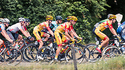 Peloton with riders of Vlasman Cycling Team during 2019 Dutch National Road Race Championships Men Elite, Ede, The Netherlands, 30 June 2019, Photo by Pim Nijland / PelotonPhotos.com | All photos usage must carry mandatory copyright credit (Peloton Photos | Pim Nijland)