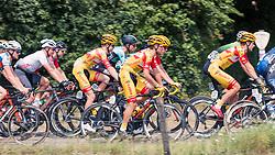 Peloton with riders of Vlasman Cycling Team during 2019 Dutch National Road Race Championships Men Elite, Ede, The Netherlands, 30 June 2019, Photo by Pim Nijland / PelotonPhotos.com | All photos usage must carry mandatory copyright credit (Peloton Photos | Pim Nijland)