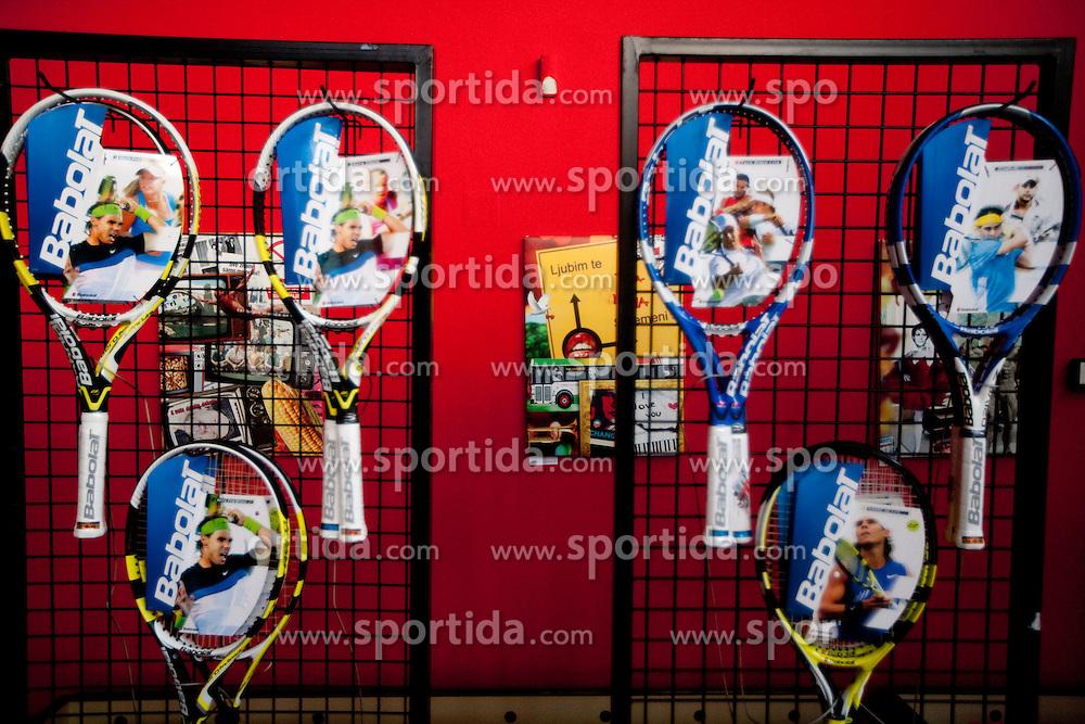 na okrogli mizi O slovenskem tenisu v organizaciji Sportforum Slovenija, on May 17, 2011 in BTC, Ljubljana, Slovenia. (Photo By Vid Ponikvar / Sportida.com)