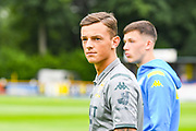 Leeds United defender Ben White arrives at the ground during the Pre-Season Friendly match between Tadcaster Albion and Leeds United at i2i Stadium, Tadcaster, United Kingdom on 17 July 2019.