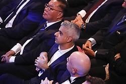 Sadiq Kahn Mayor of London during the Gala of the Best FIFA Football Awards At Palladium Theater, London, UK, on October 23, 2017. Photo by Henri Szwarc/ABACAPRESS.COM