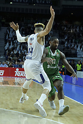 February 24, 2017 - Madrid, Madrid, Spain - Wanamaker of Darussafaka Dogus Istanbul in action during the 2016/2017 Turkish Airlines Euroleague Regular Season Round 23 game between Real Madrid and Darussafaka Dogus Istanbul at Barclaycard Center on February 24, 2017 in Madrid, Spain  (Credit Image: © Oscar Gonzalez/NurPhoto via ZUMA Press)