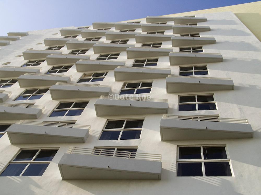 New art deco style hotel Royal Palm Miami beach USA