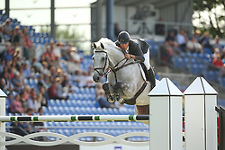 Alvarez Moya Sergio, (ESP), Carlo 273<br /> Team Competition round 1 and Individual Competition round 1<br /> FEI European Championships - Aachen 2015<br /> &copy; Hippo Foto - Stefan Lafrentz<br /> 19/08/15