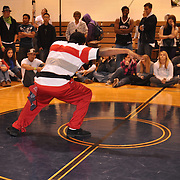 Metro Detroit area B-boy competition produced by Original V.I.B.E. and held at Zion Christian Church in Troy, MI.