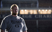 11/12/2015 - Hillsdale College athletics photo shoot with football player with Danny Drummond.