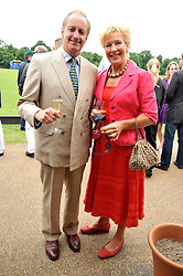 NEIL & CHRISTINE HAMILTON at a charity polo match organised by Jaeger Le Coultre was held at Ham Polo Club, Richmond, Surrey on 12th June 2009.
