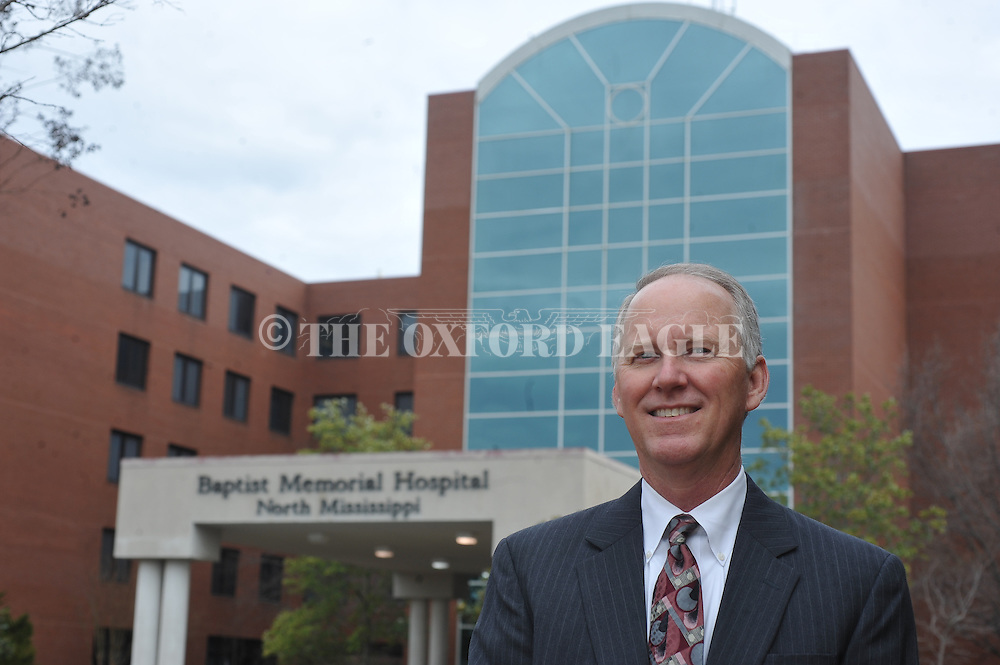 Bill Henning, in Oxford, Miss. on Thursday, February 7, 2013, is the new administrator of Baptist Memorial Hospital-North Mississippi.